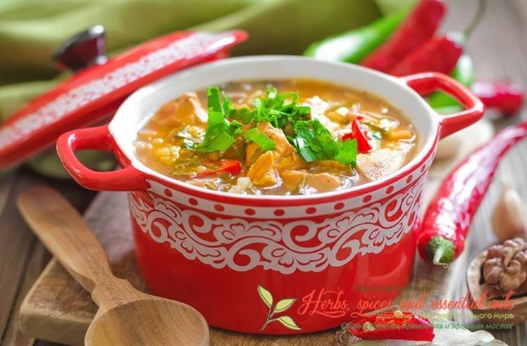 Из этой стати вы узнаете все про специи для харчо, как готовить вкусный грузинский суп правильно, какие компоненты входят в его состав, технология приготовл