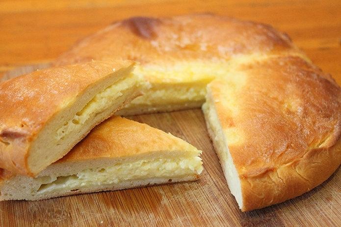 Хачапури с сыром рецепт фото пошагово