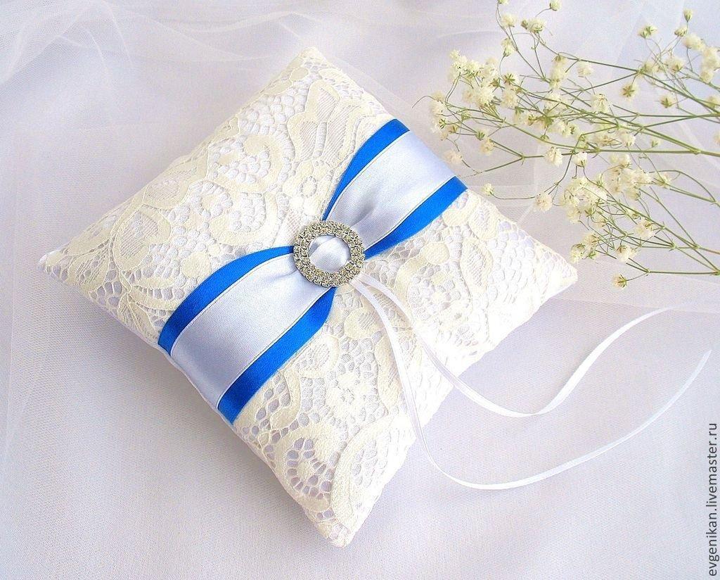 подушечки для колец на свадьбу фото внешний вид