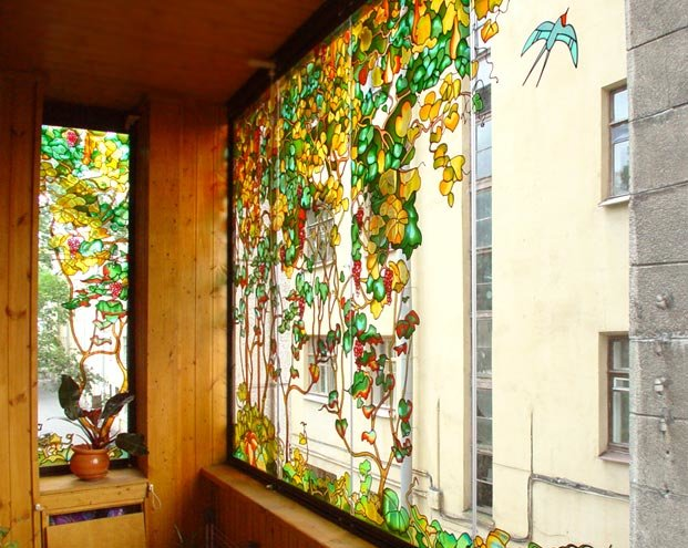 Декор балкона декупаж фото (17 штук).