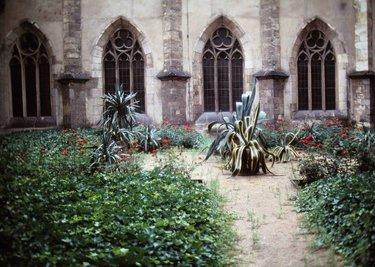 садов средневековья монастырские сады