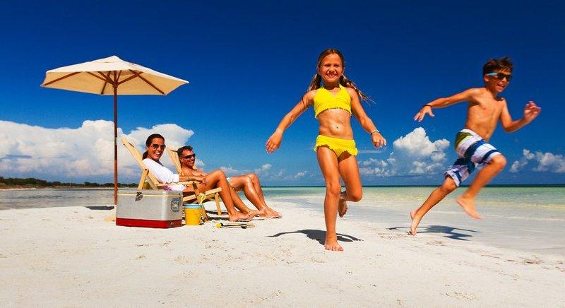 семейная фотосессия на пляже маями