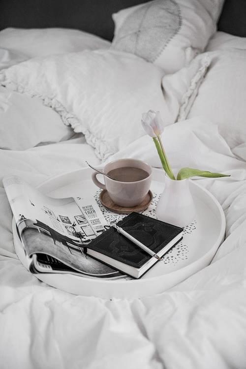 Картинки кофе постель