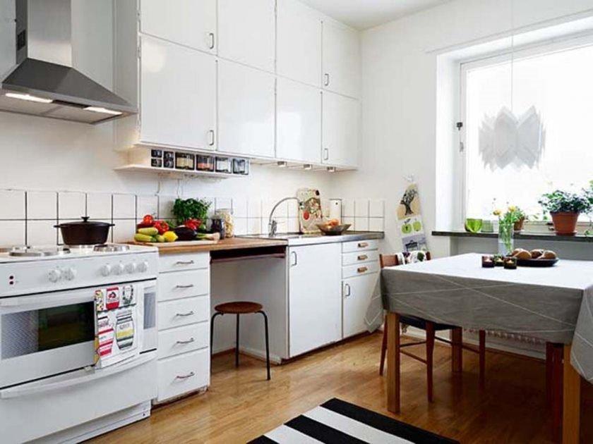 Простой интерьер кухни в картинках
