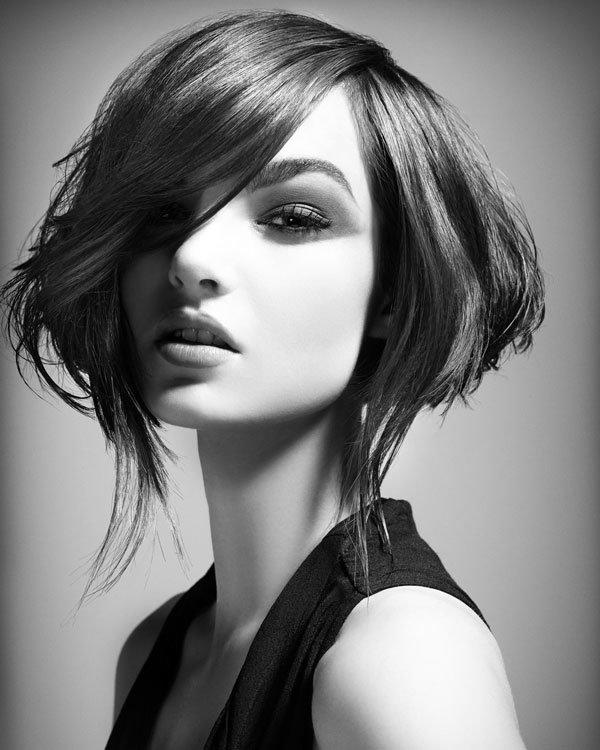 Картинки модельных стрижек с длинными волосами