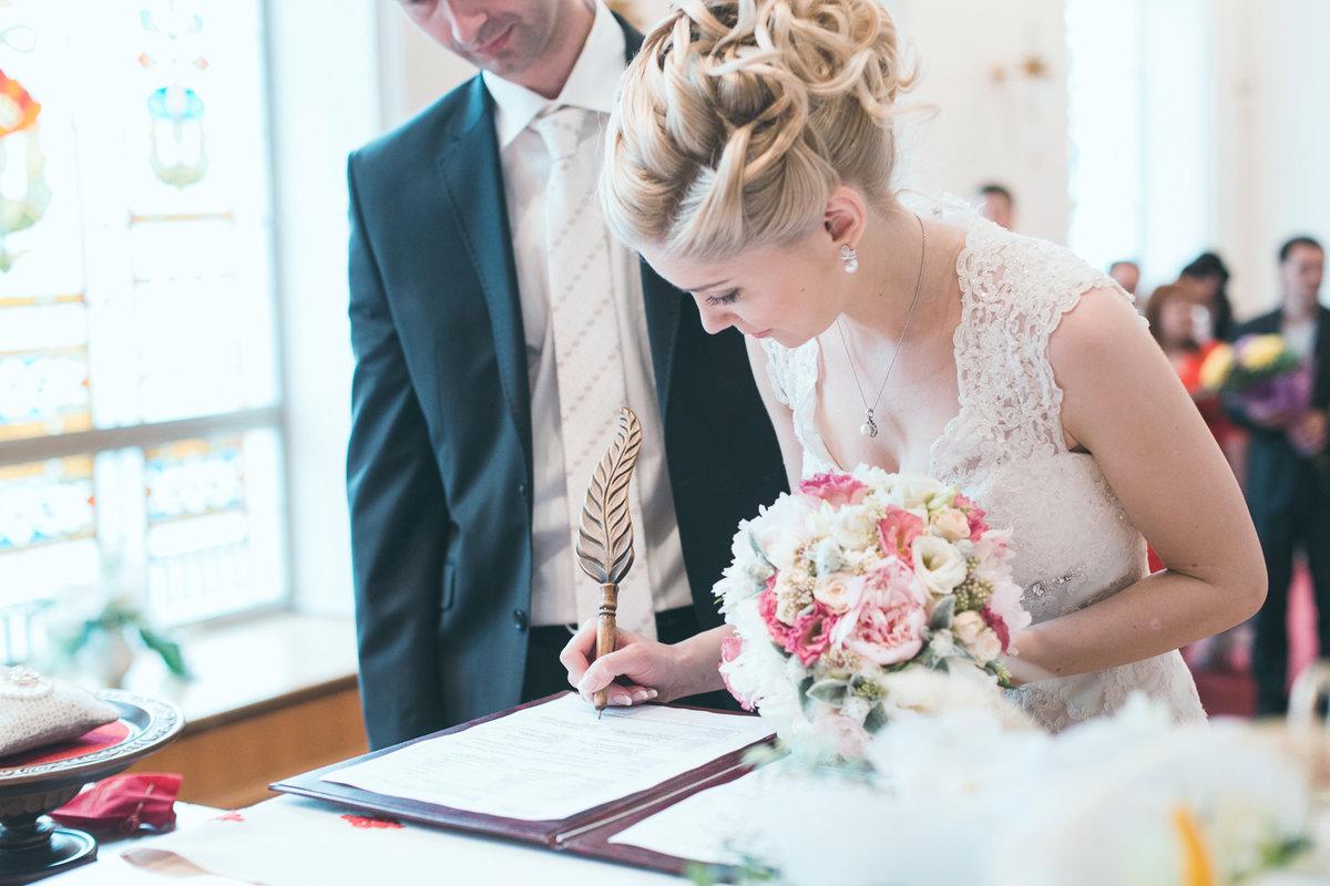 Невесту в загсе, нарезка длинные члены кончают