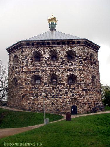 крепость skansen kronan