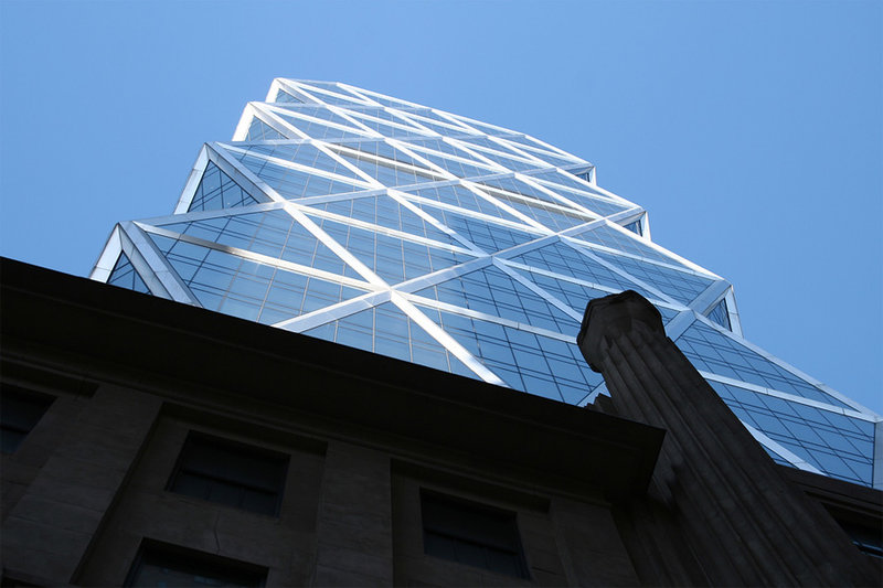 Башня Хёрста в Нью-Йорке