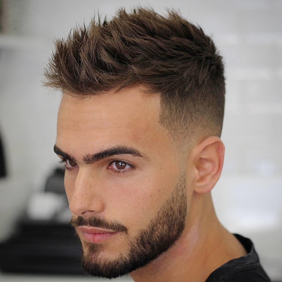 Прически с короткими волосами для мужчин могут быть самыми разными.