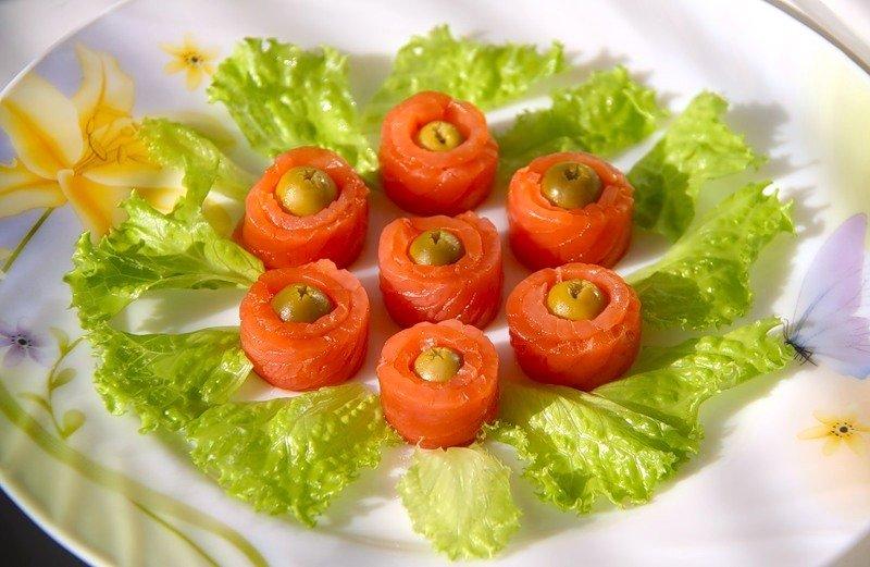 Рецепты салатов и закусок с рыбой с фото