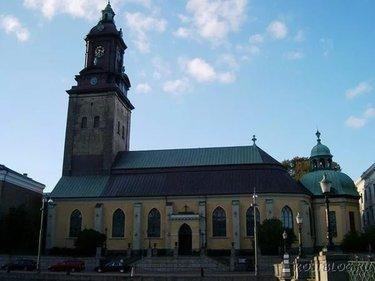 фото немецкая церковь в гетеборге