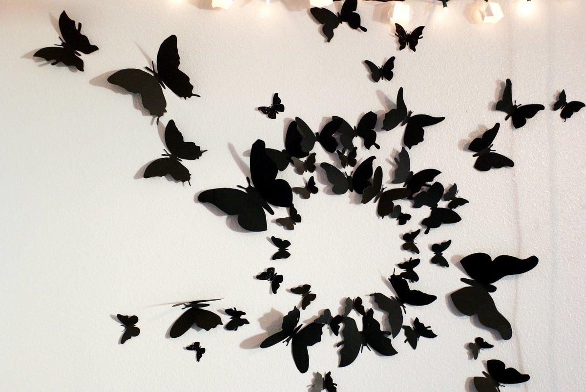 Днем, картинки из бабочек своими руками