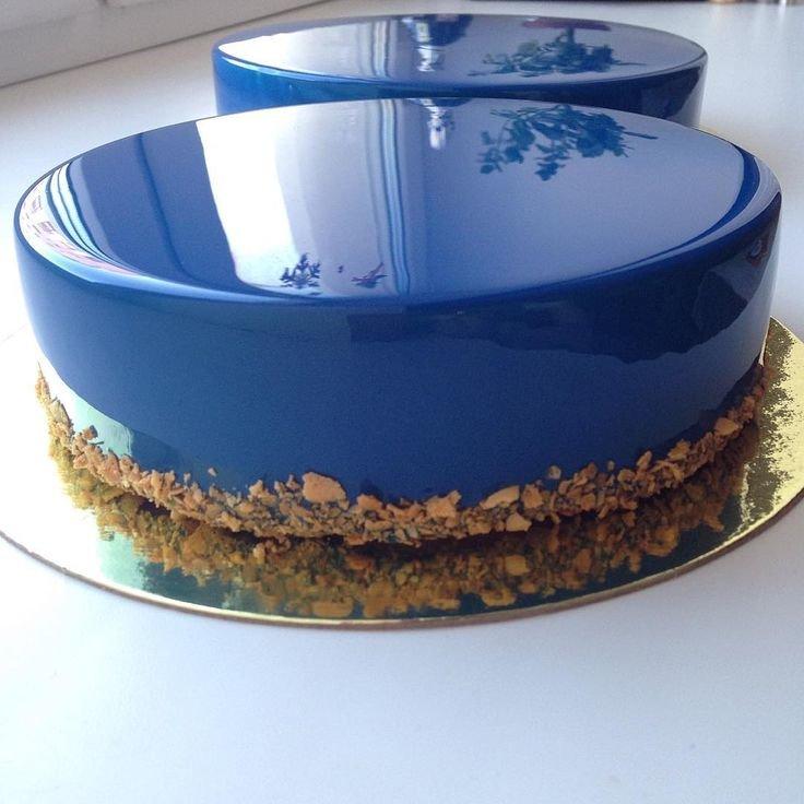 Зеркальный торт рецепт с фото