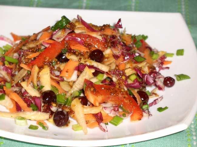 Какой салат можно приготовить из репы