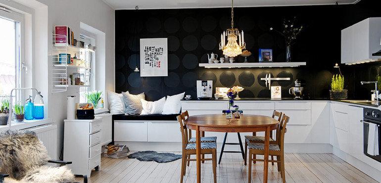 Функциональная и красивая кухня