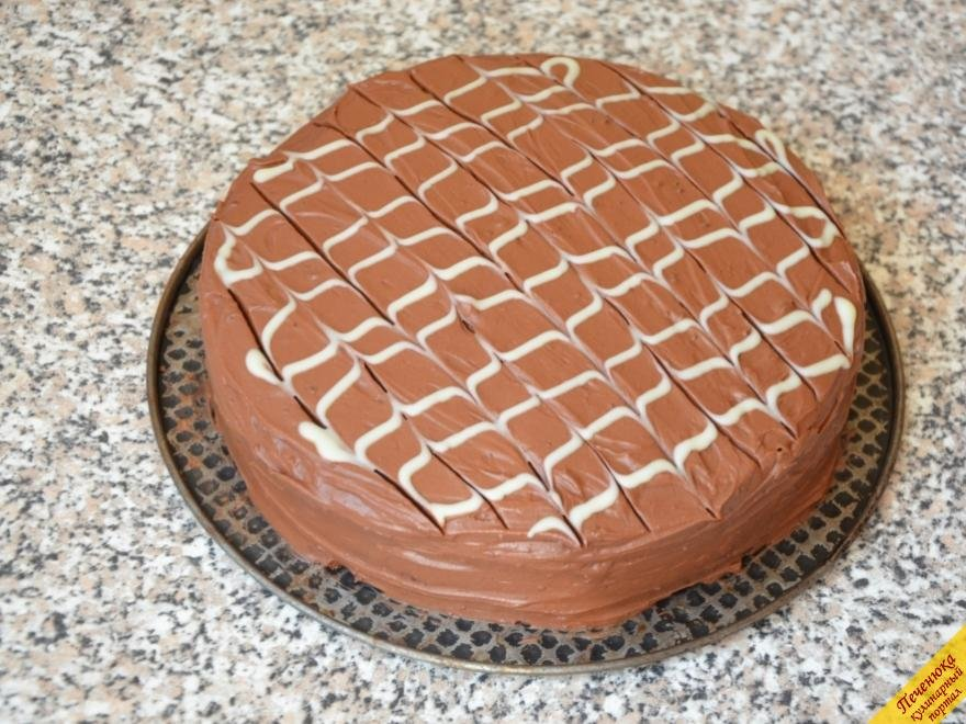 шоколадный торт дома рецепт-хв10