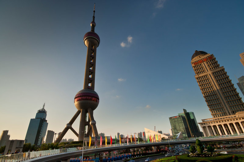 Телебашня «Жемчужина Востока», Шанхай, Китай