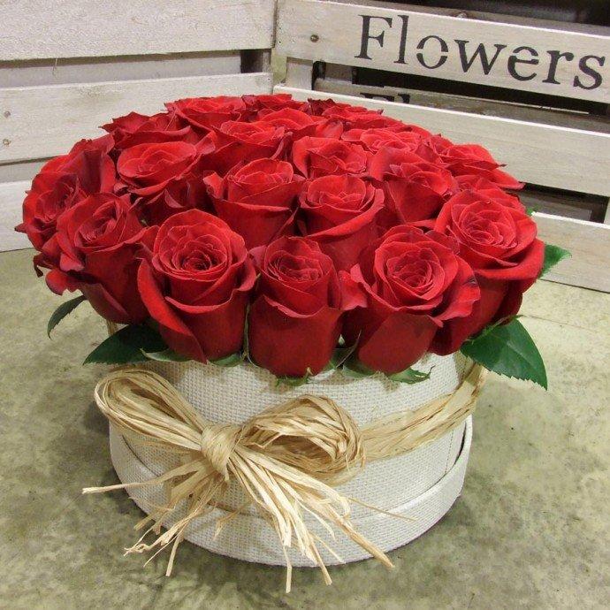 Открытки с днем рождения девушке с розами в коробке, открытки телефон