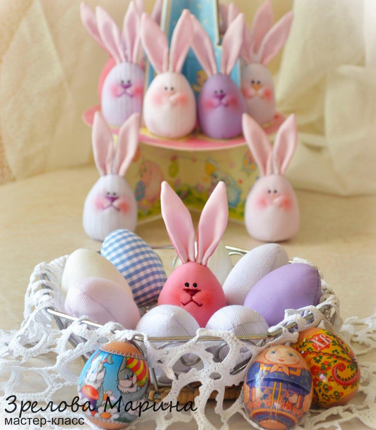 Заяц для яйца своими руками фото 744