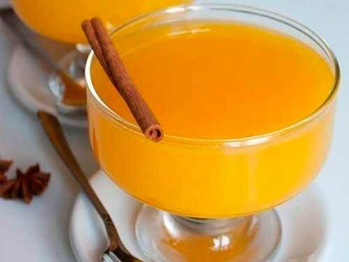 Апельсиновое крем-желе