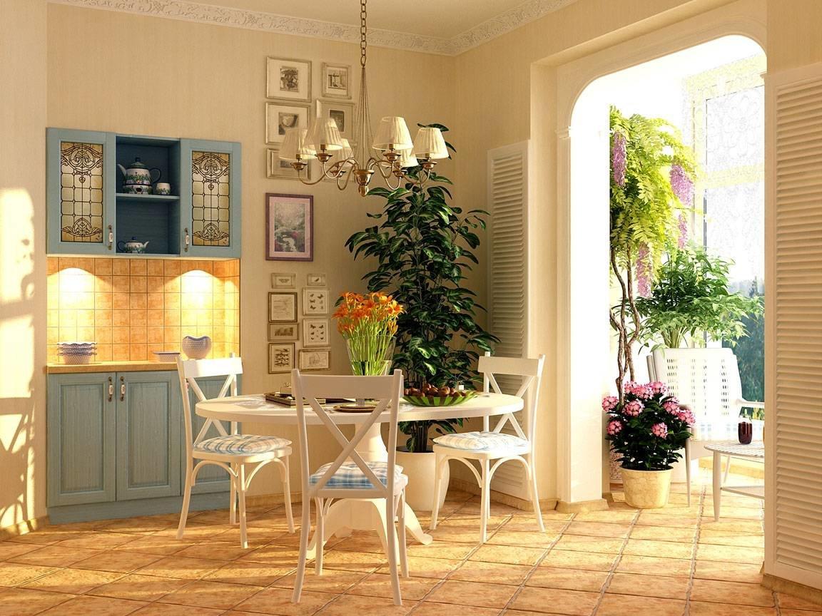 Цветы на кухне уют в доме фото в интерьере
