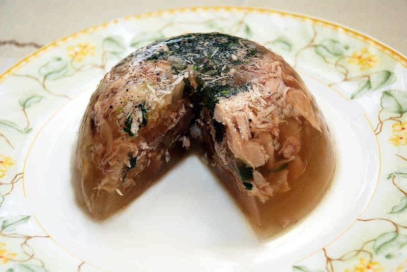 Холодец из говяжьей головы рецепт с фото