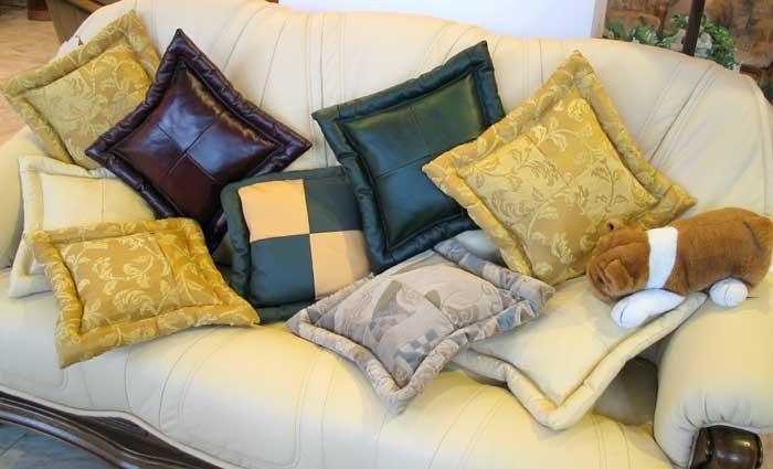 Декоративные подушки для мебели