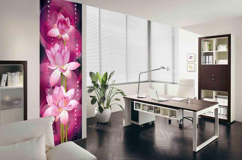 Картинки по запросу фотообои в интерьере офис