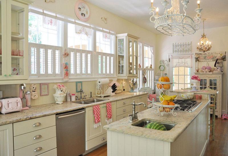 Винтажные кухни: 30 фото идей дизайна, винтаж своими руками