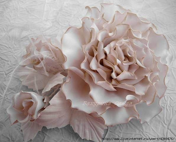 Цветы из ткани на платье купить в москве