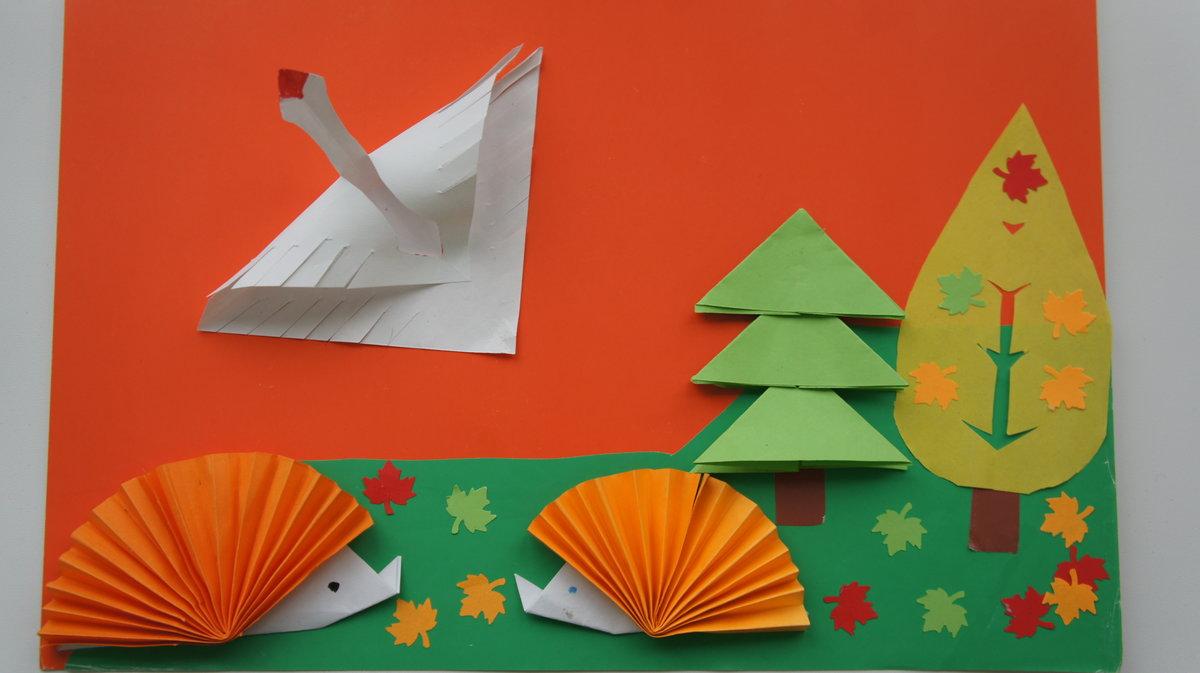случае появления оригами в подготовительной группе занятие юла левой