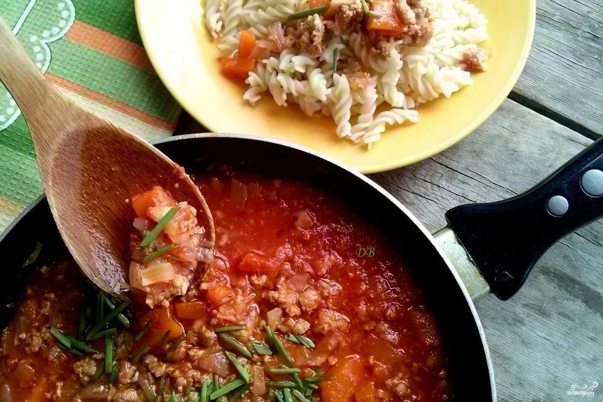 соус для макарон простой рецепт с фаршем