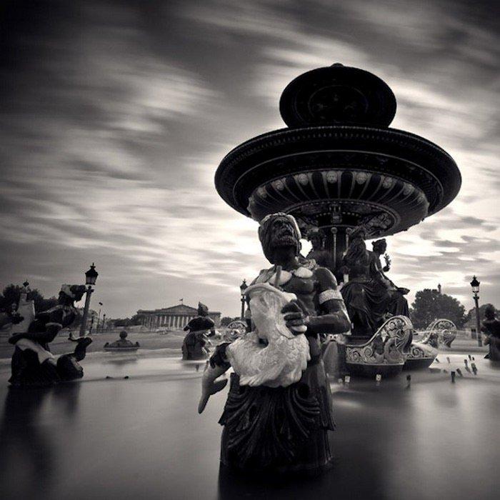 самые красивые черно-белые фотографии в мире современный мегаполис, котором