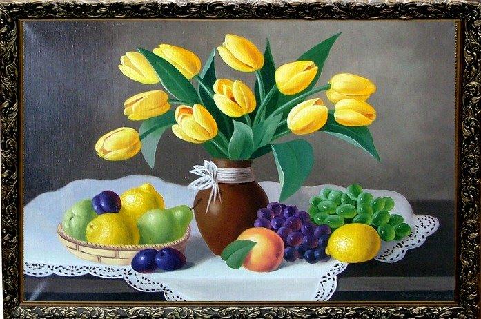 Жёлтые тюльпаны вестники разлуки