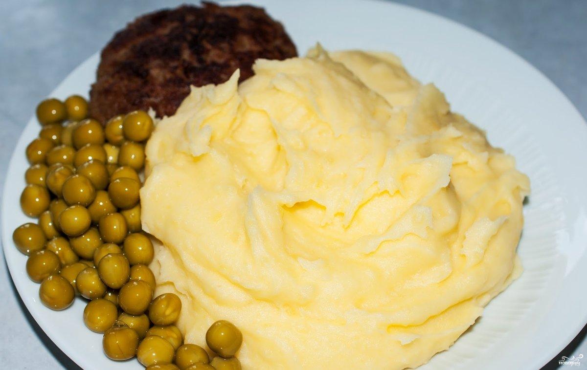 пюре картофельное с молоком и яйцом рецепт с фото