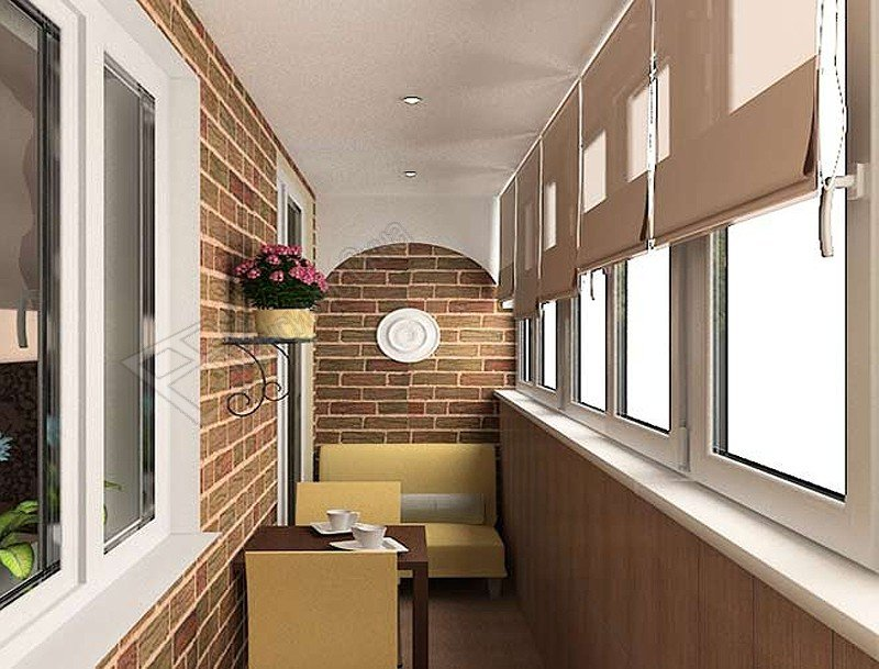 Проект балкона в хрущевке.