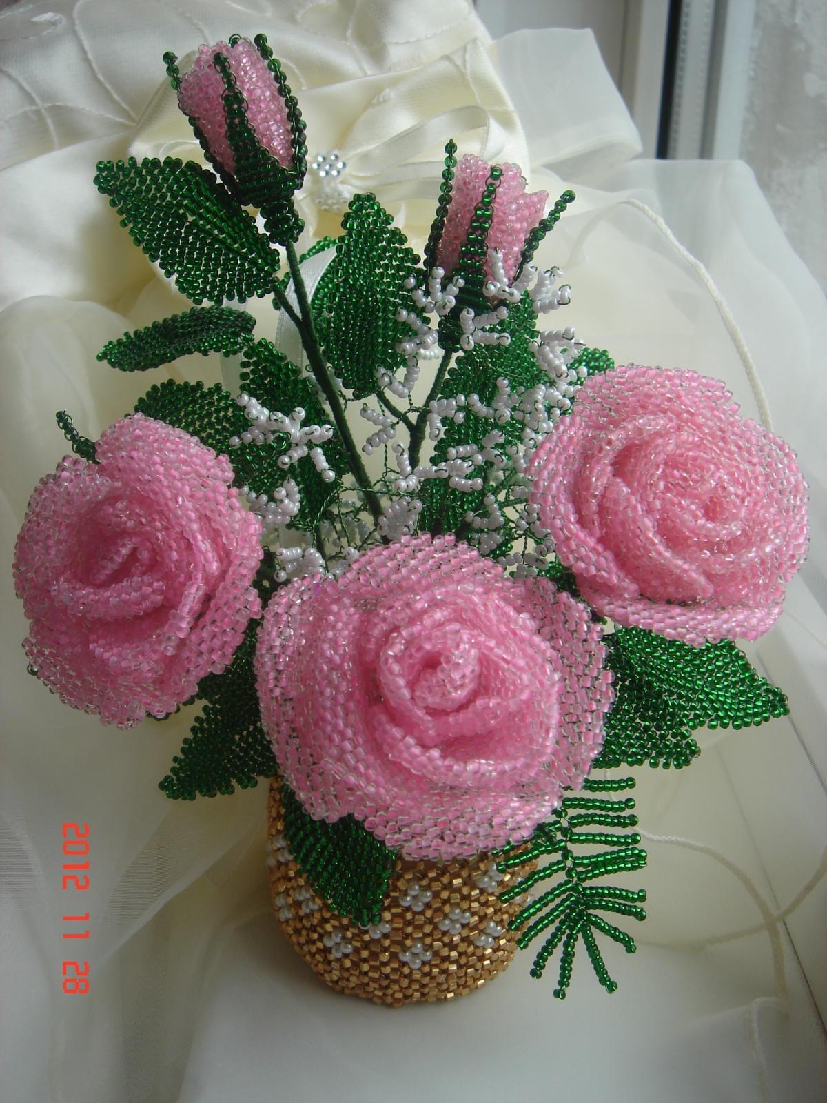 описываются композиция роз из бисера фото фотографы гаваны