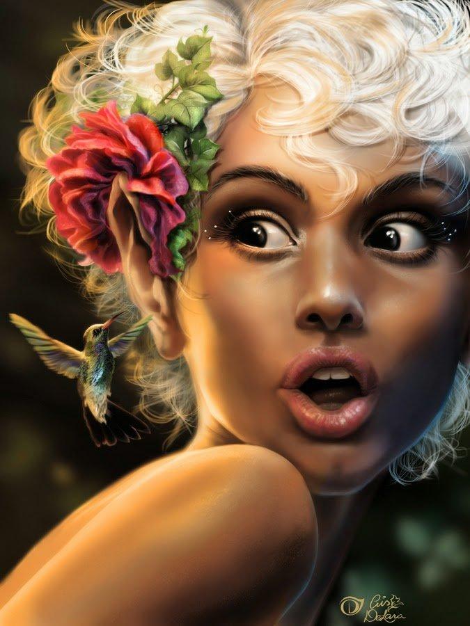 Женская фантазия смешные картинки, поздравления