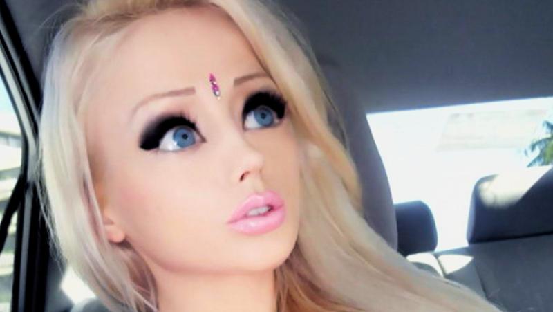 Макияж глаз кукольные глаза выглядит сказочно красиво.