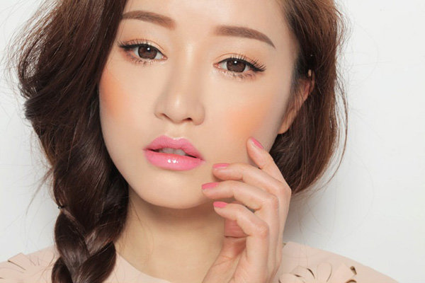 Корейский макияж.
