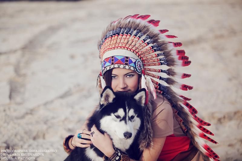 индейцы и собаки картинки меет