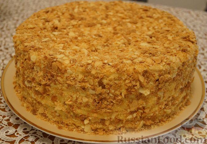наполеон торт простой рецепт с фото