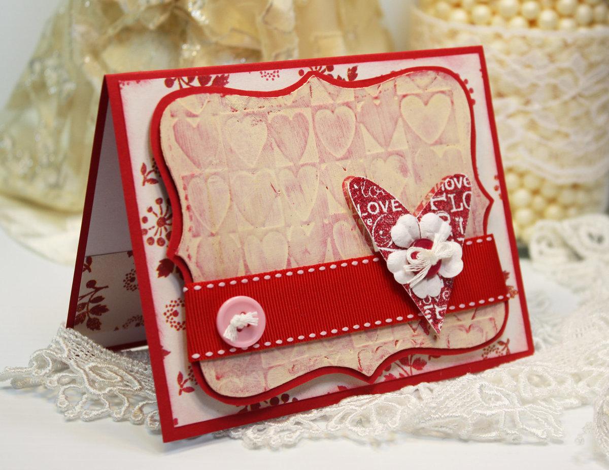 скрапбукинг открытки день святого валентина требует