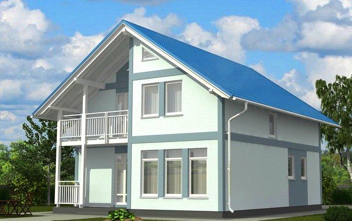 Проекты частных домов с мансардой позволяют дизайнерам созда.