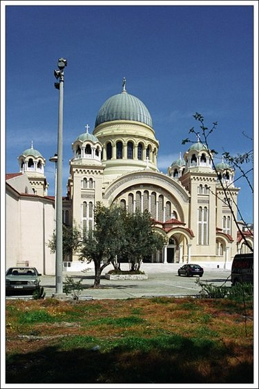 храм андрея первозванного греция