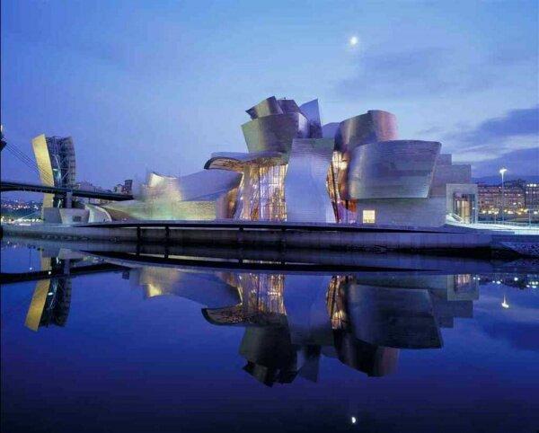 Музей Геггенхайма в Бильбао, Испания