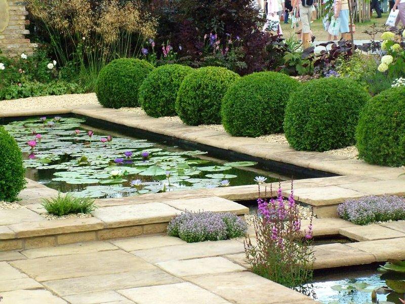Декоративный водоем: своими руками, устройство, оформление, уход ... Что делать, чтобы пруд на даче не зеленел