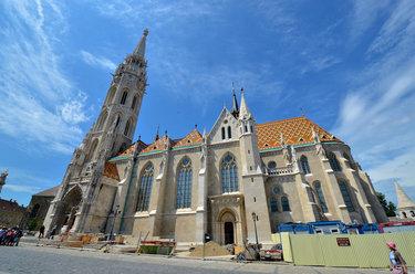 церковь матьяша, венгрия.