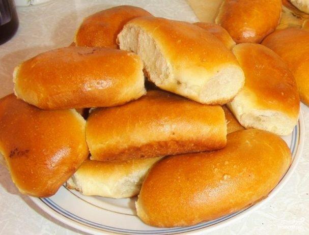 Тесто дрожжевое сдобное пирожки жареные