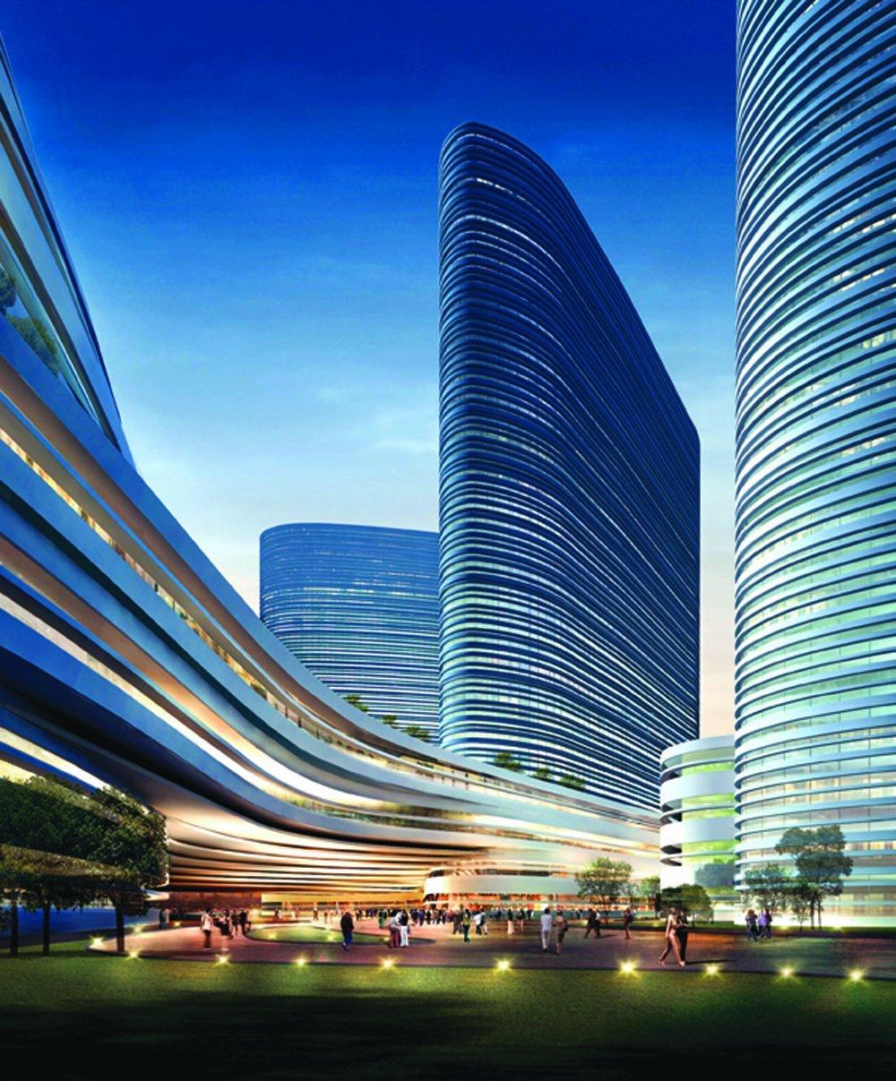 пекин небоскребы фото